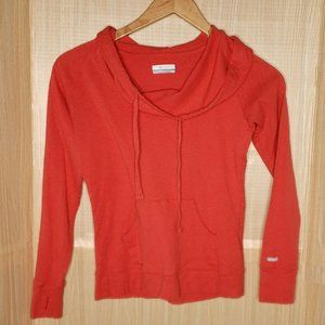 Columbia Womens Hooded Long Sleeve Top Small